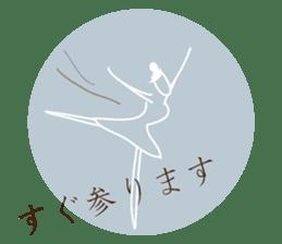 -Ballerina- sticker #5195845