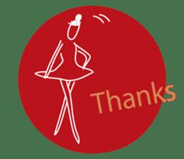 -Ballerina- sticker #5195856
