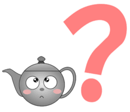 Teapot and tea cup sticker #5196698