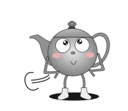 Teapot and tea cup sticker #5196703