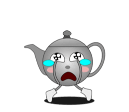 Teapot and tea cup sticker #5196722