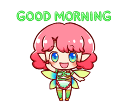 Girl fairy(English version) sticker #5197244