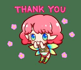 Girl fairy(English version) sticker #5197247