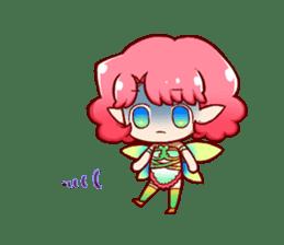Girl fairy(English version) sticker #5197257