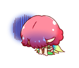 Girl fairy(English version) sticker #5197258