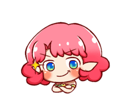 Girl fairy(English version) sticker #5197260