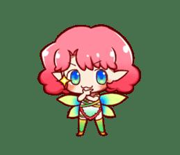 Girl fairy(English version) sticker #5197262