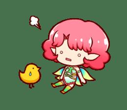 Girl fairy(English version) sticker #5197268