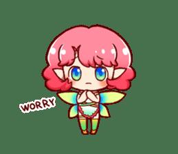 Girl fairy(English version) sticker #5197274