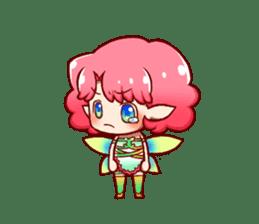 Girl fairy(English version) sticker #5197275