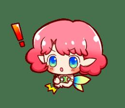 Girl fairy(English version) sticker #5197279