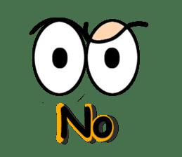 Eyes message sticker #5197974