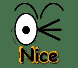 Eyes message sticker #5197994