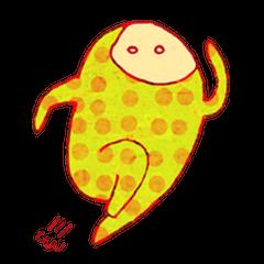 polka dotted