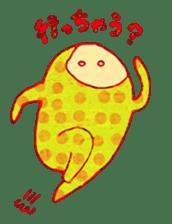 polka dotted sticker #5205660