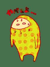 polka dotted sticker #5205661