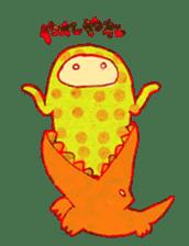 polka dotted sticker #5205662