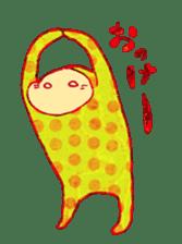 polka dotted sticker #5205665