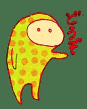 polka dotted sticker #5205668