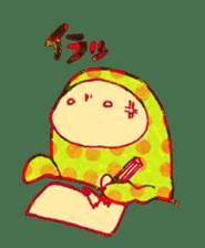 polka dotted sticker #5205669