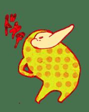 polka dotted sticker #5205671