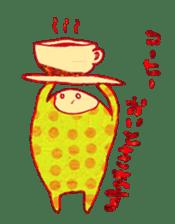 polka dotted sticker #5205672
