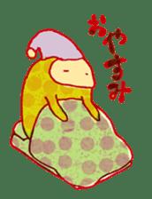 polka dotted sticker #5205676
