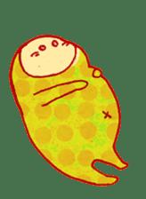 polka dotted sticker #5205685