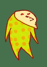 polka dotted sticker #5205693