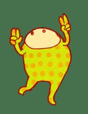 polka dotted sticker #5205694