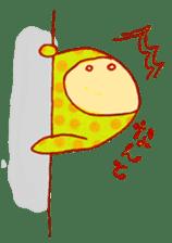 polka dotted sticker #5205699