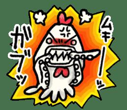 Niwatako and Nudibranch Bros. sticker #5207194