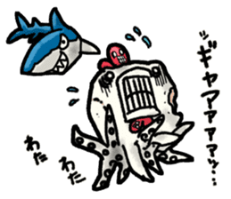 Niwatako and Nudibranch Bros. sticker #5207212