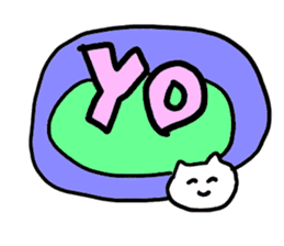 very honest cats sticker #5207867