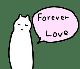 very honest cats sticker #5207896