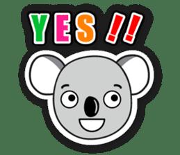 Hello Koala sticker #5208220