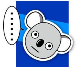 Hello Koala sticker #5208221