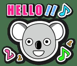 Hello Koala sticker #5208222
