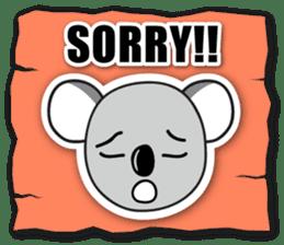 Hello Koala sticker #5208234
