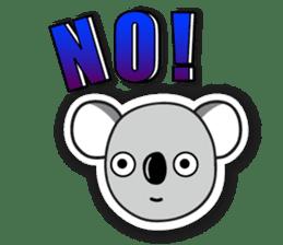 Hello Koala sticker #5208237