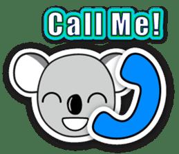 Hello Koala sticker #5208246