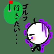 mikio and sakiko's golf dairy sticker #5208508