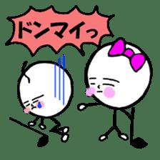 mikio and sakiko's golf dairy sticker #5208509