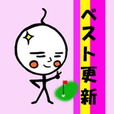 mikio and sakiko's golf dairy sticker #5208515