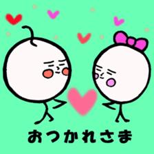 mikio and sakiko's golf dairy sticker #5208516