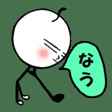 mikio and sakiko's golf dairy sticker #5208518