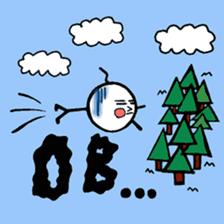 mikio and sakiko's golf dairy sticker #5208519