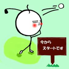 mikio and sakiko's golf dairy sticker #5208526