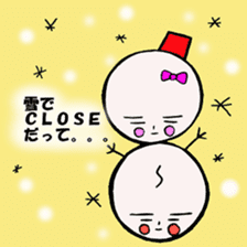 mikio and sakiko's golf dairy sticker #5208534