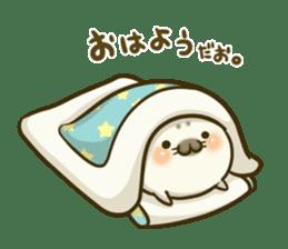 Cute Baby Harbor seal 2!! sticker #5211900